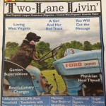 two lane living june cover
