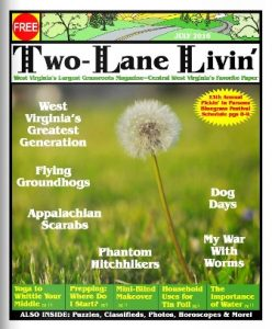 two lane livin cover for July 2016