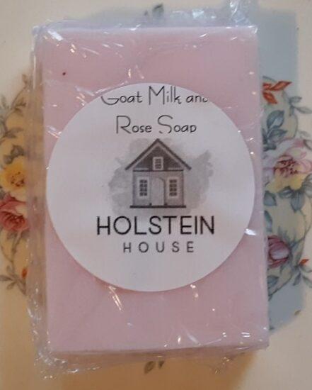 goat milk rose soap